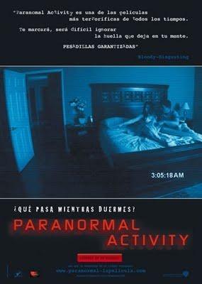 imagen de El fenómeno Paranormal Activity