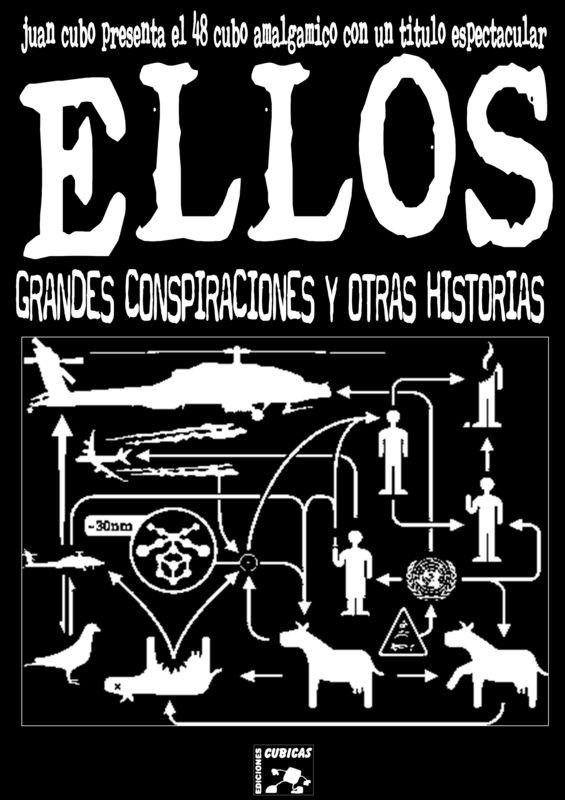 imagen de EL CUBO AMALGAMICO Nº 48: ELLOS, GRANDES CONSPIRACIONES Y OTRAS HISTORIAS YA EN IMPRE