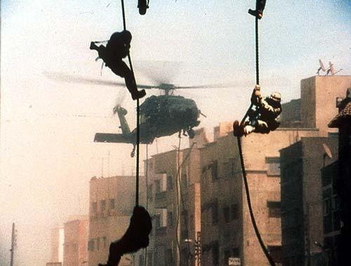 imagen de Black Hawk derribado, realidad y ficcion