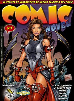 imagen de Comic Novel, una revista para nuevos autores