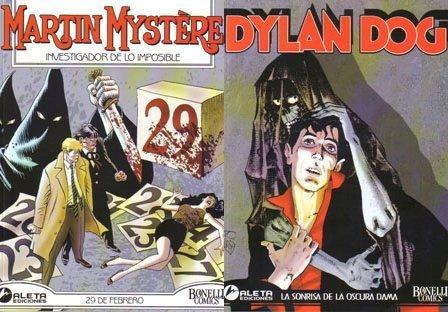 imagen de Martin Mystere y Dylan Dog