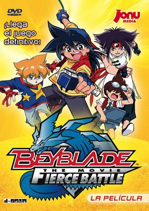 imagen de DVD: BeyBlade: The movie Fierce Battle.