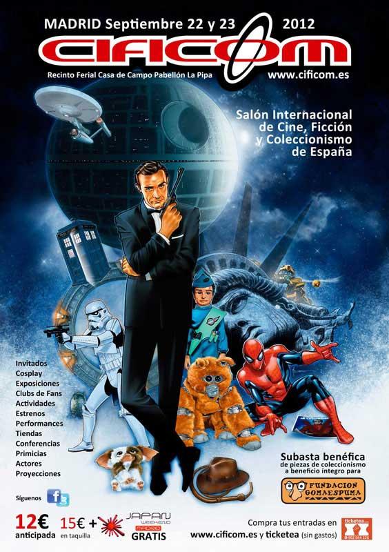 """imagen de Kenny """"R2-D2"""" Baker será uno de los invitados principales de CIFICOM MADRID 2012"""