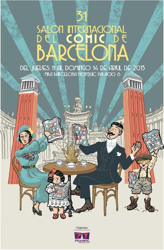 imagen de 31 Salón Internacional del Cómic de Barcelona